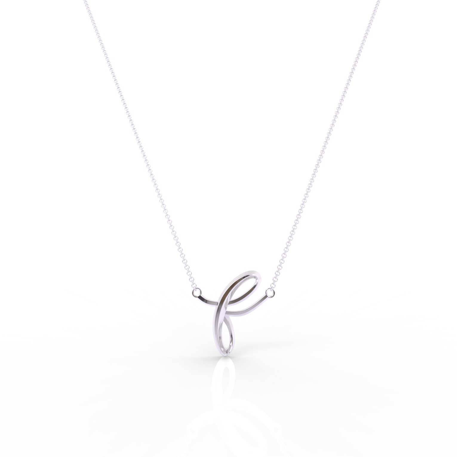 "The Love Collect - ""F"" Necklace"