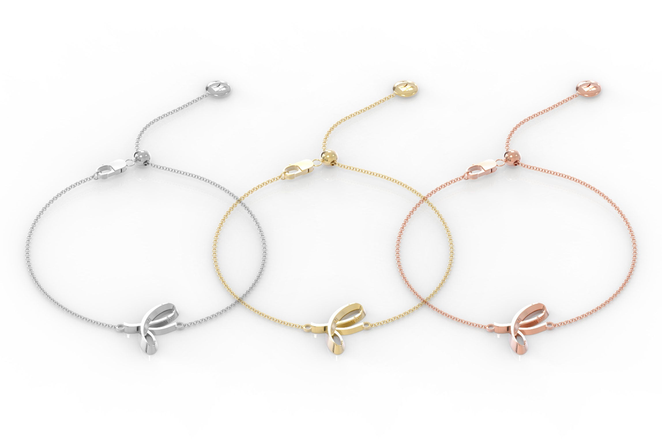 "The Love Collect - ""F"" Bracelet"