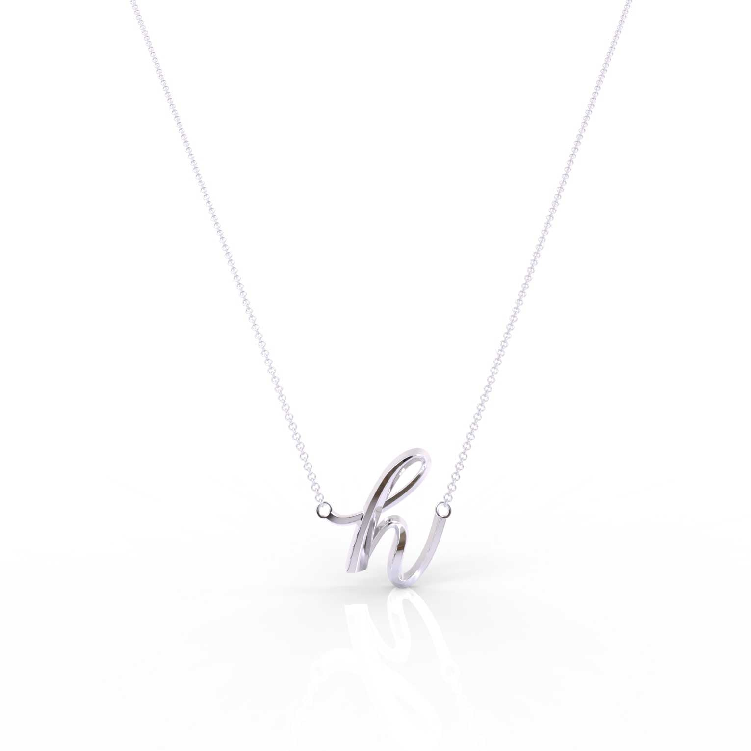 "The Love Collect - ""H"" Necklace"
