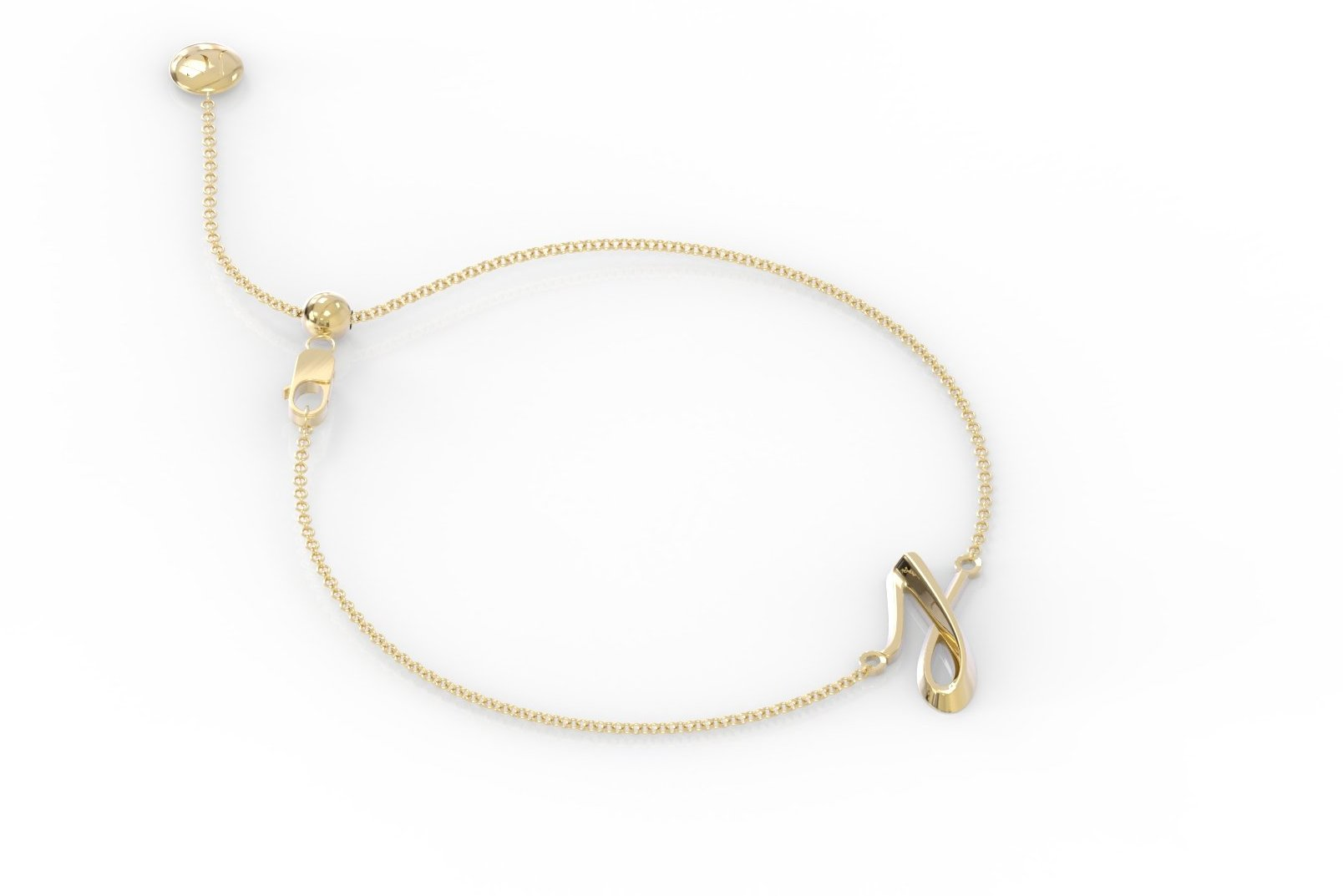 "The Love Collect - ""J"" Bracelet"