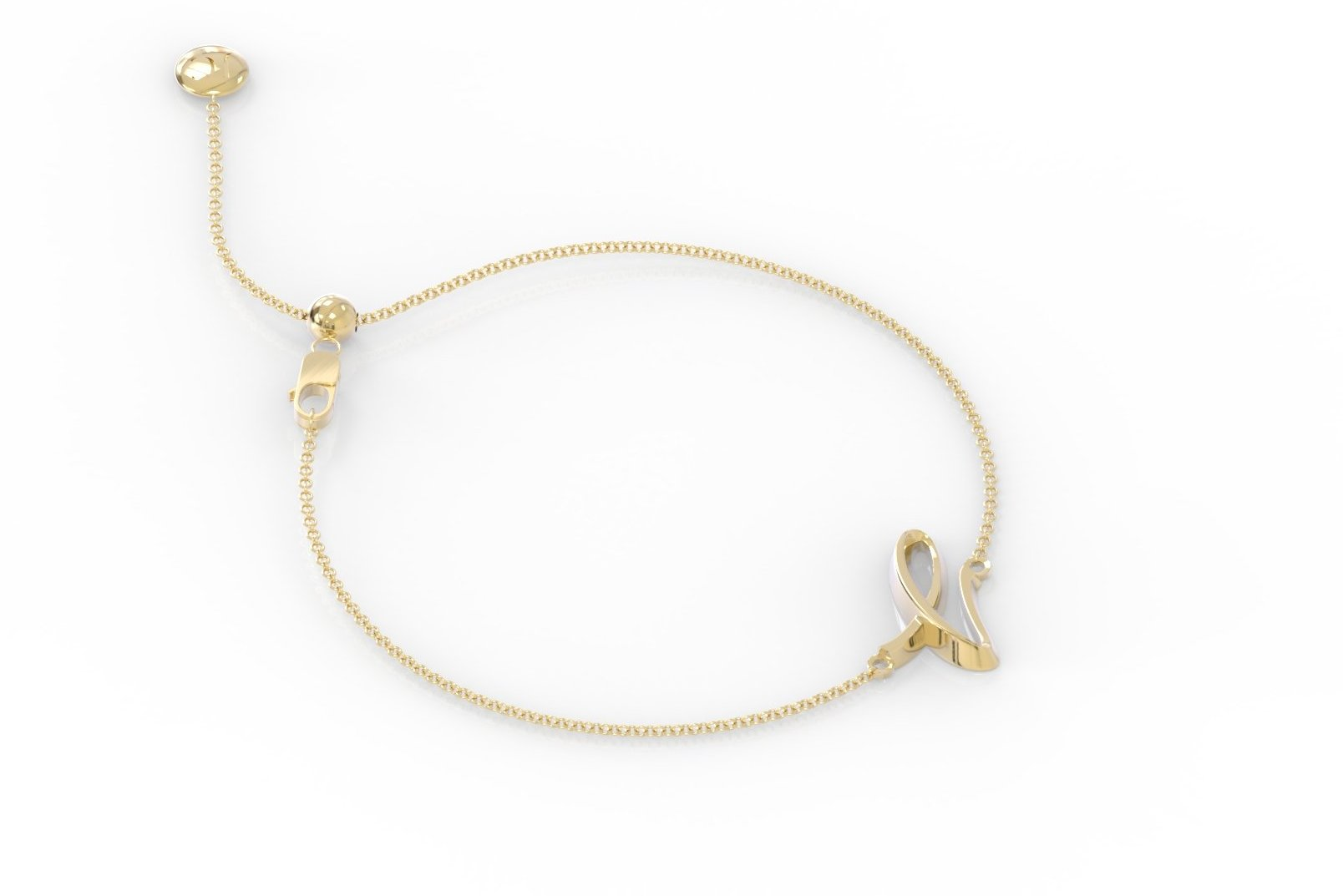 "The Love Collect - ""L"" Bracelet"