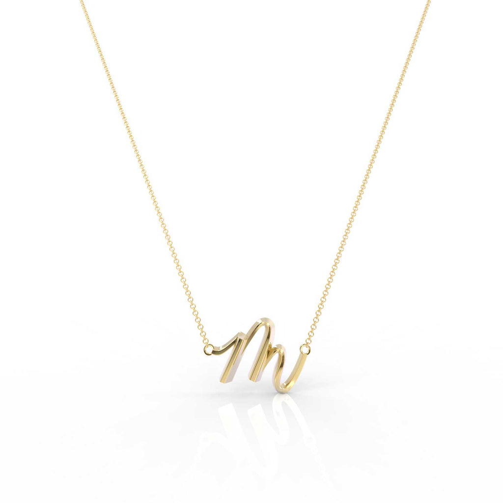 "The Love Collect - ""M"" Necklace"