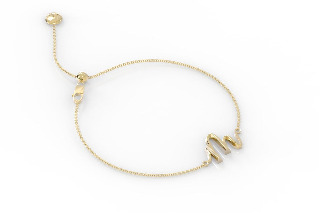 "The Love Collect - ""M"" Bracelet"