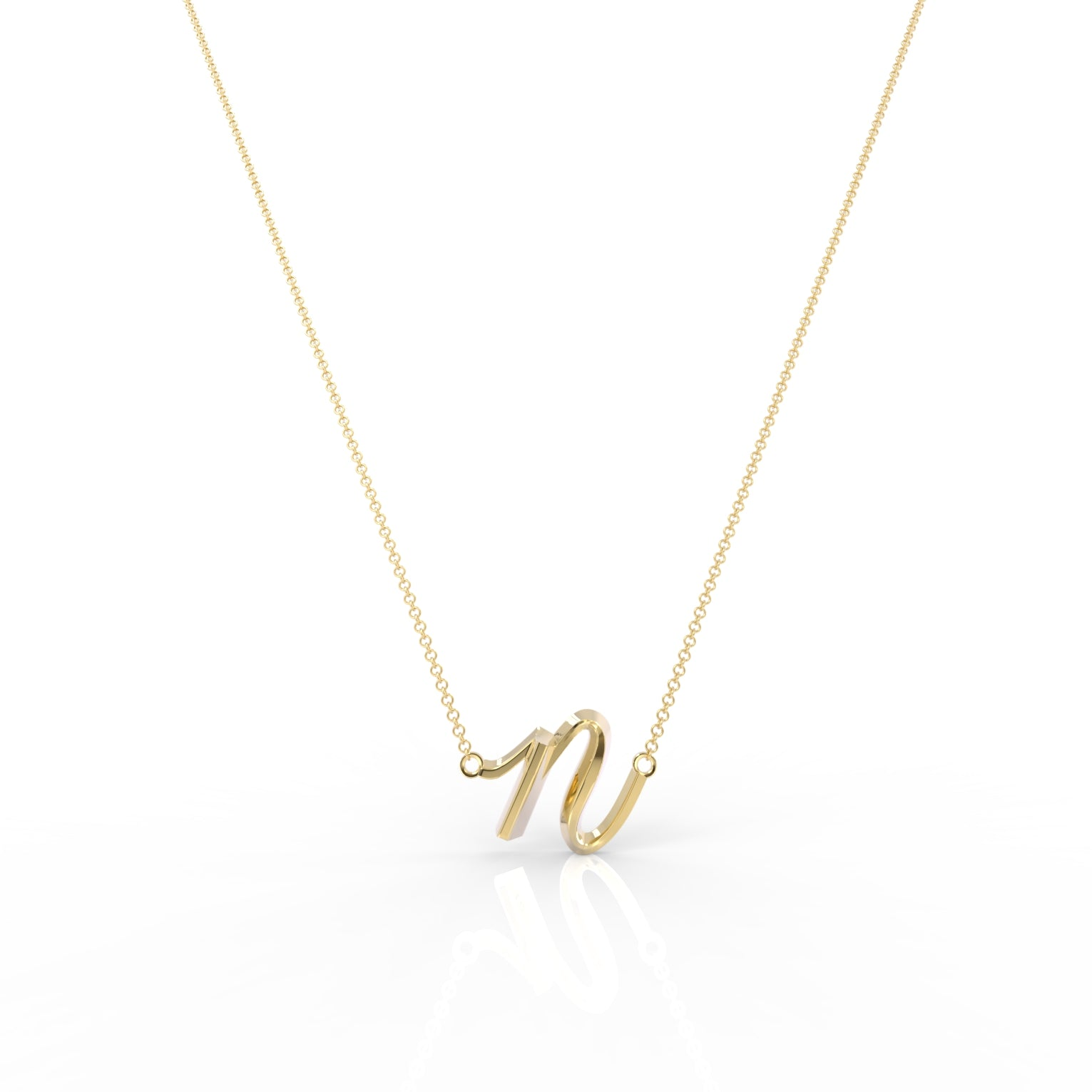 "The Love Collect - ""N"" Necklace"