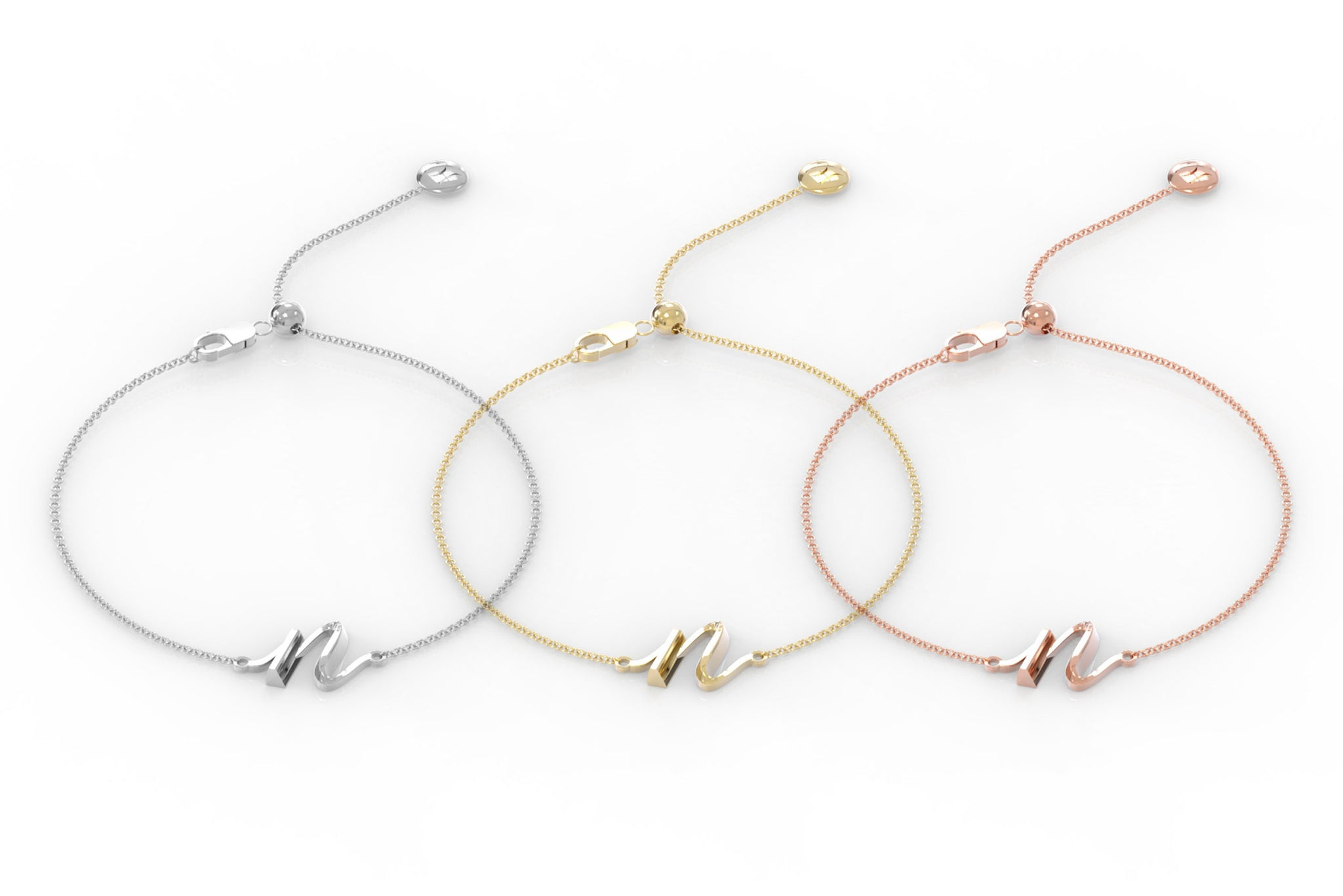 "The Love Collect - ""N"" Bracelet"