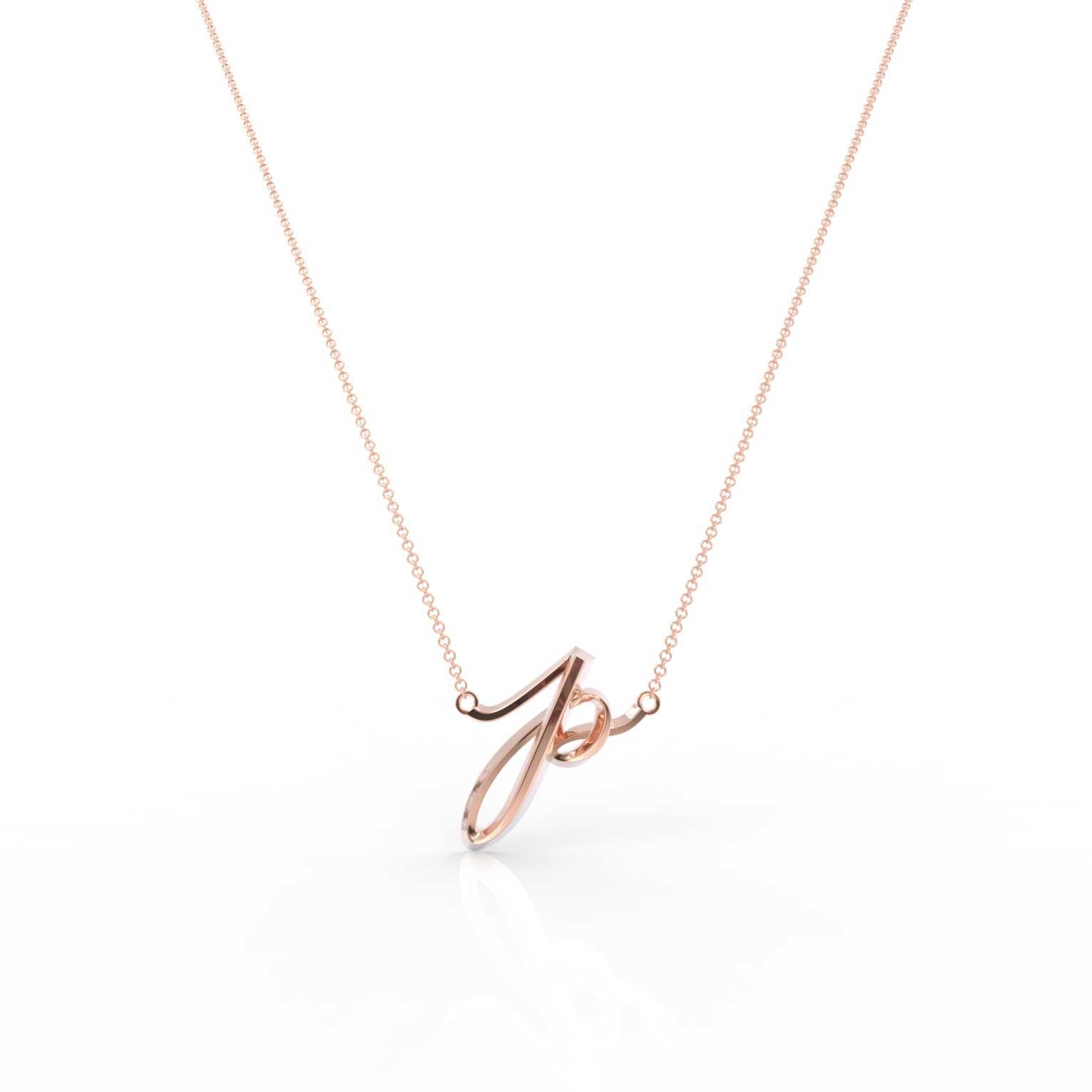 "The Love Collect - ""P"" Necklace"