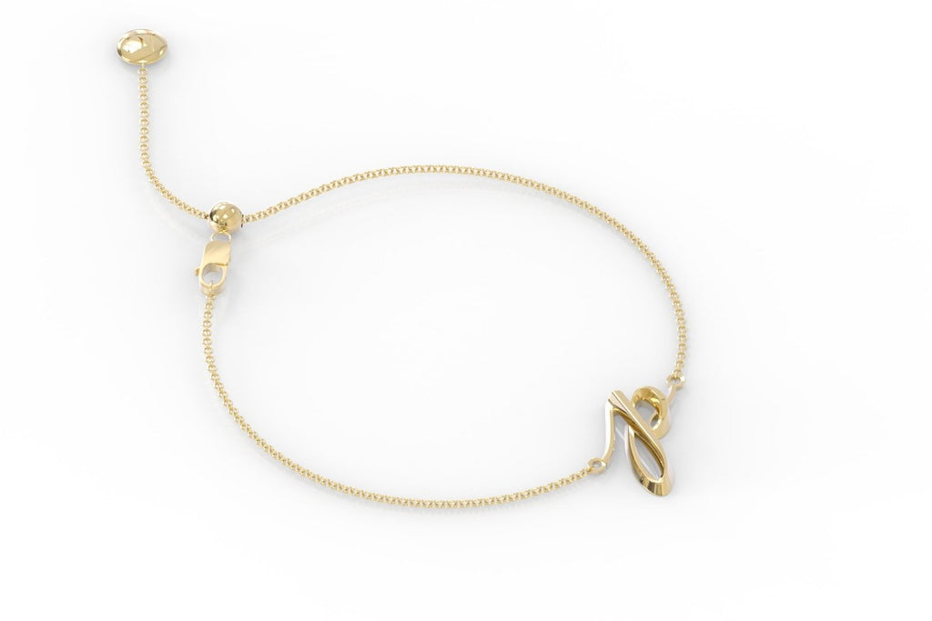 "The Love Collect - ""P"" Bracelet"