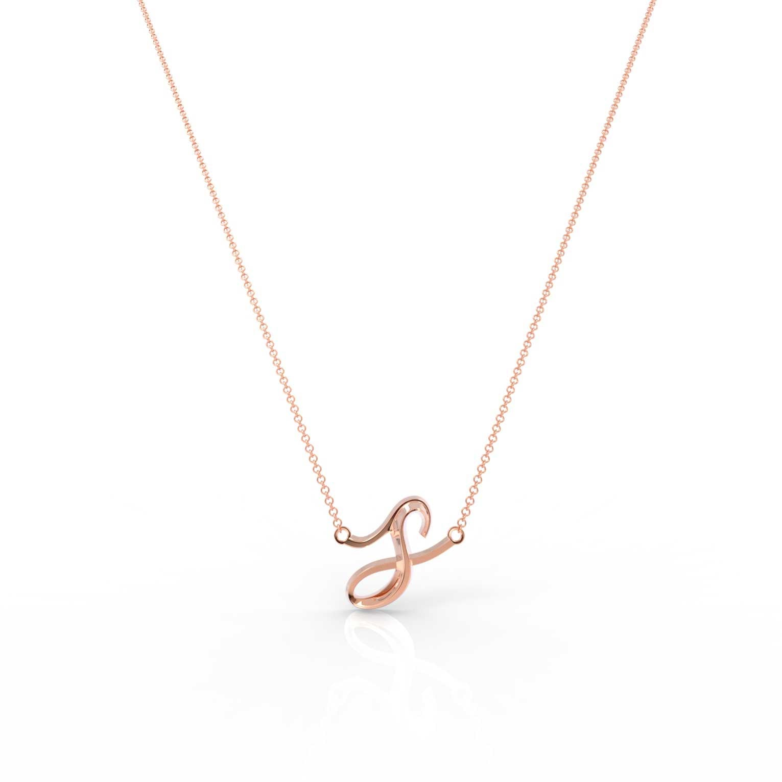 "The Love Collect - ""S"" Necklace"