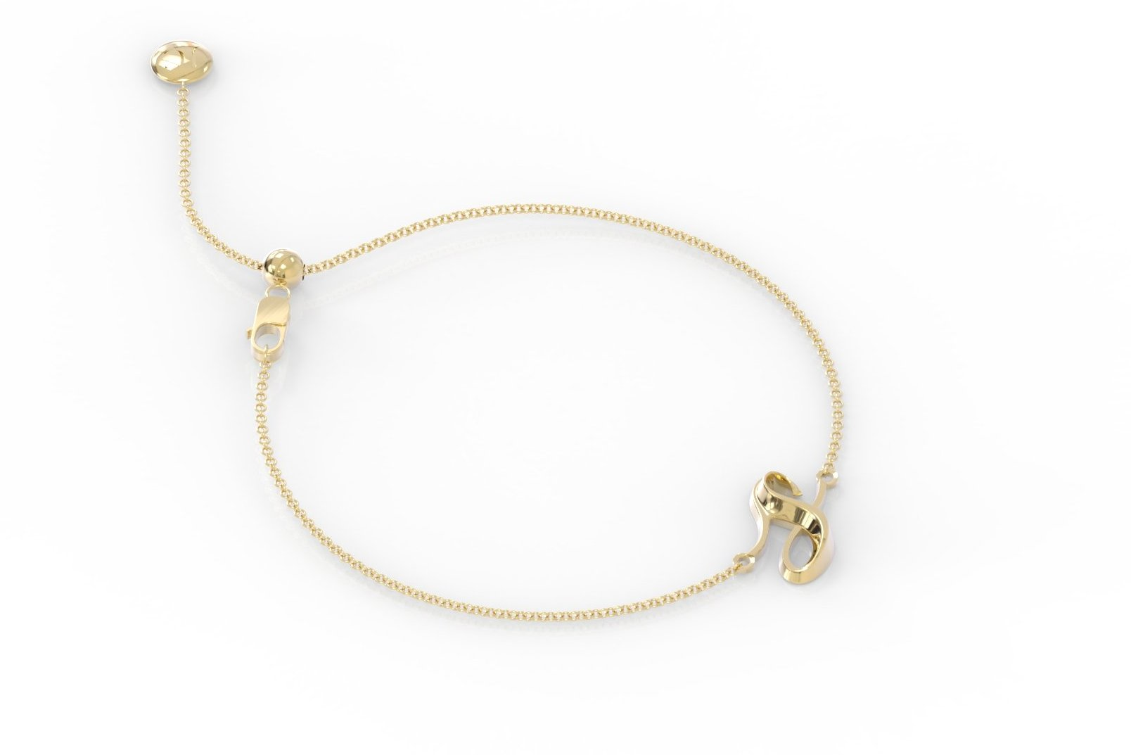 "The Love Collect - ""S"" Bracelet"