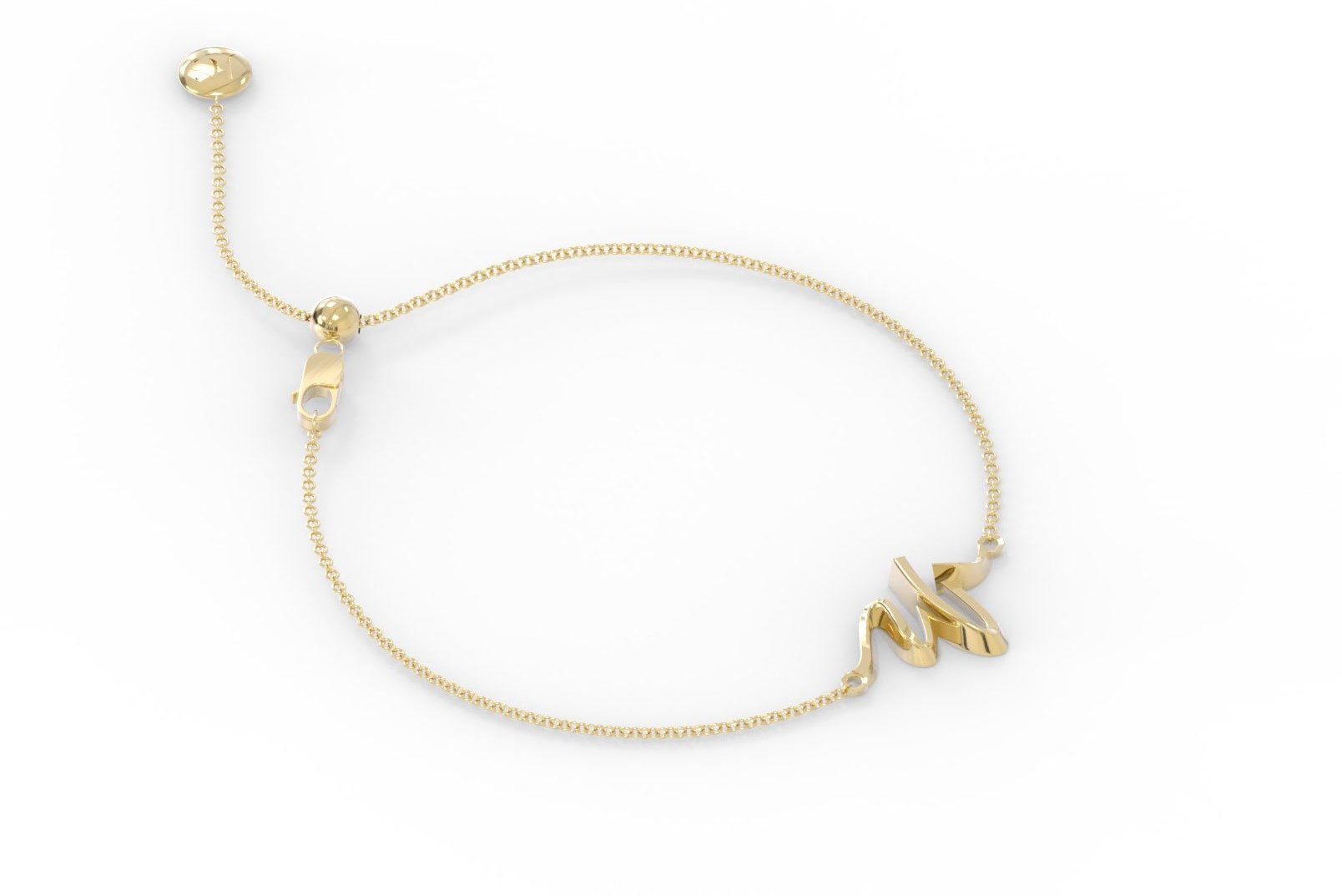 "The Love Collect - ""W"" Bracelet"