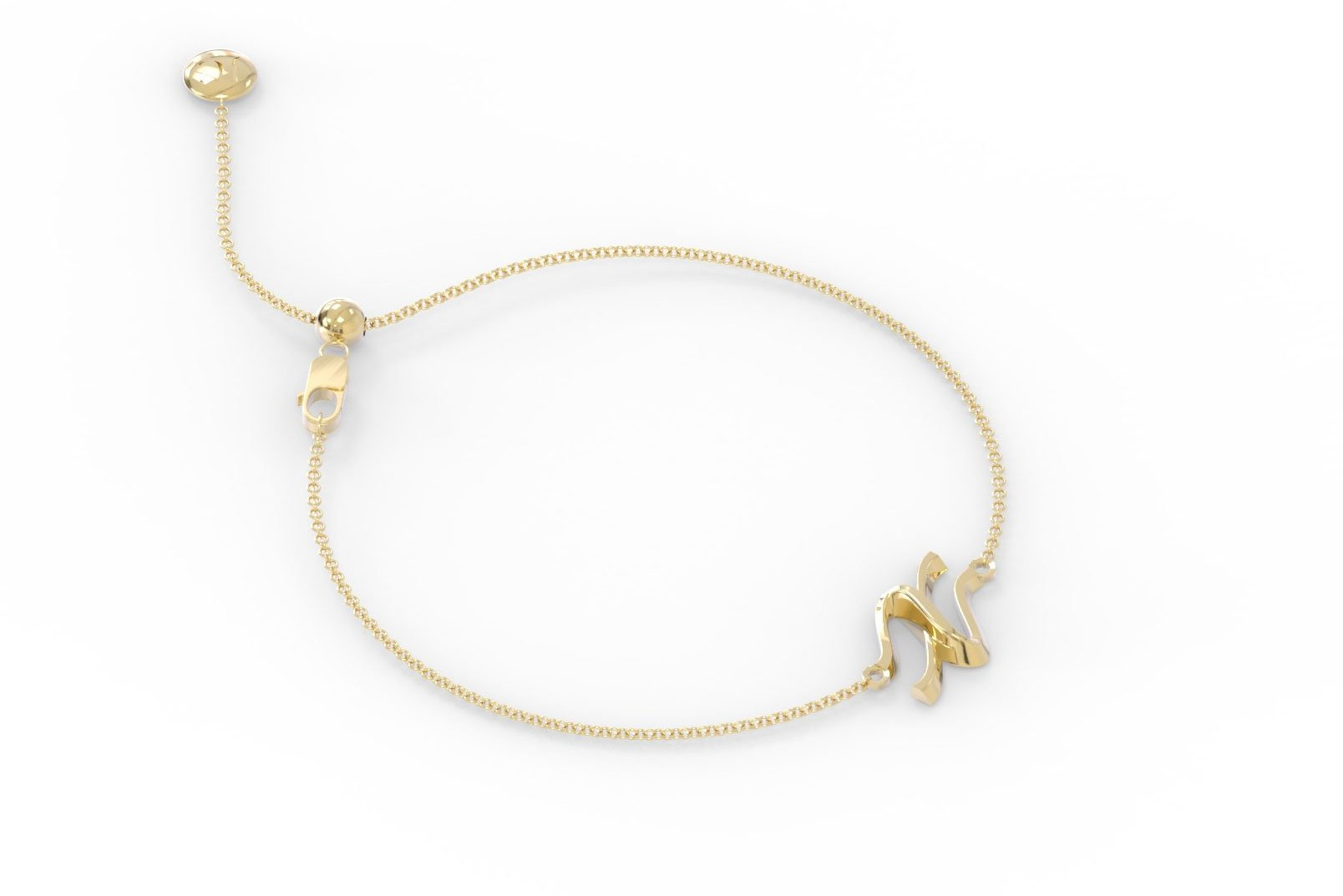 "The Love Collect - ""X"" Bracelet"