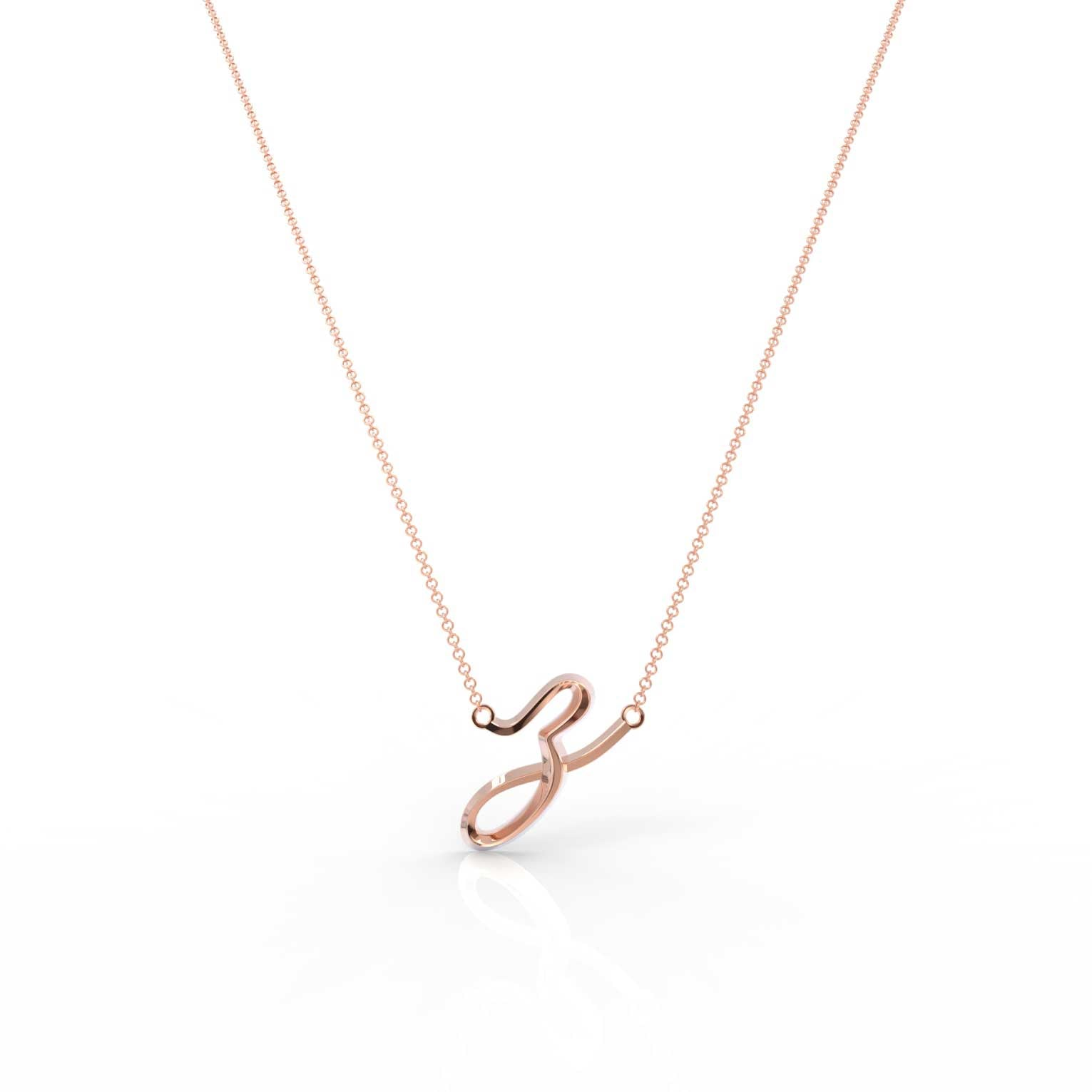 "The Love Collect - ""Z"" Necklace"