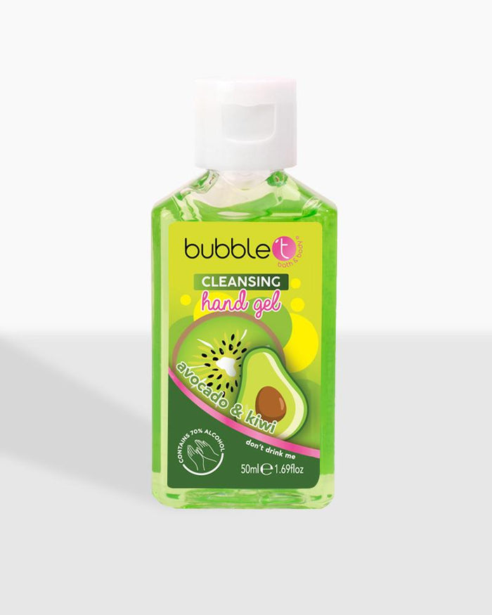 avocado kiwi anti-bacterial cleansing hand gel