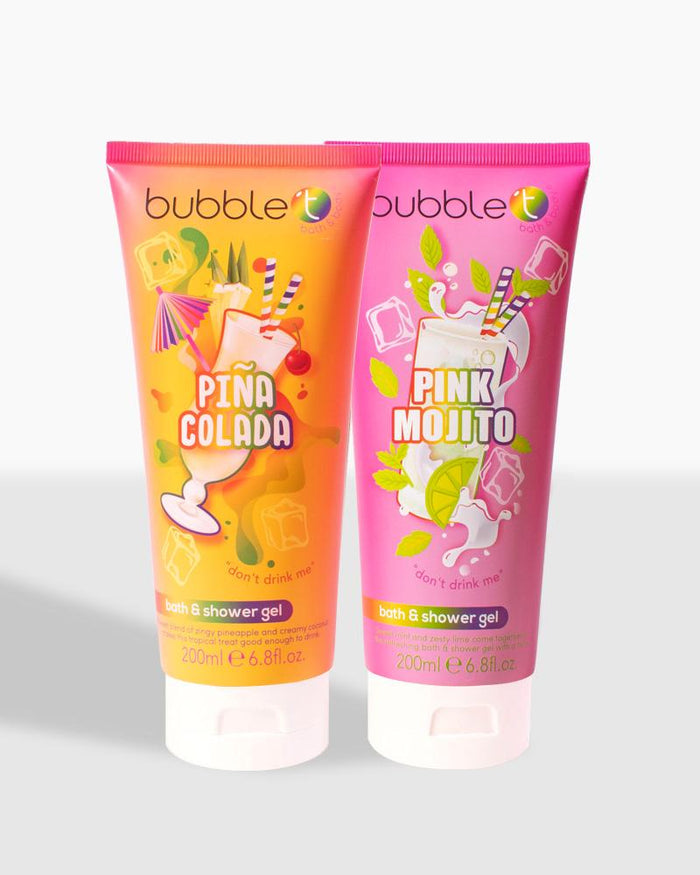 Piña Colada & Pink Mojito Shower Gels (2x 200ml)