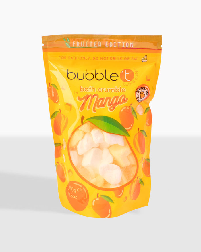 Fruitea Edition Fizzing Mango Bath Crumble (250g)