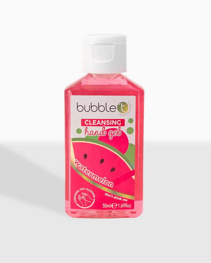 Watermelon Anti-Bacterial Cleansing Hand Gel (70% Alcohol) - Bubble T Cosmetics Trade