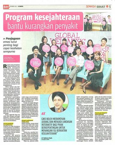 GWD Press Briefing Berita Harian 30 May 2015