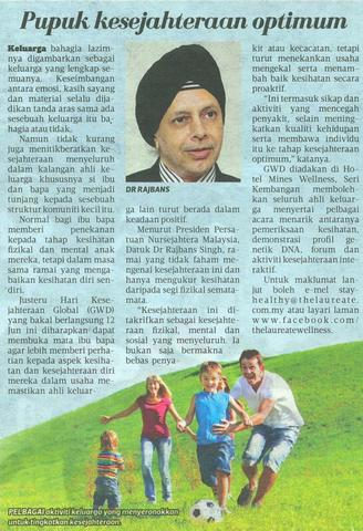 GWD Press Briefing Harian-Metro 10 June 2015