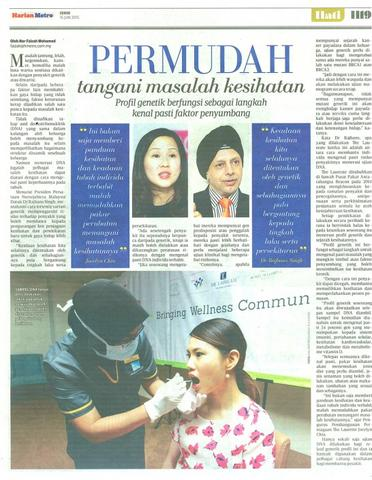 GWD Press Briefing Harian Metro 15 June 2015