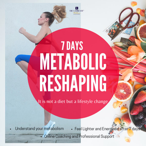 [ONLINE COACHING]7 Day Metabolic Reshaping Program (代谢重塑体验班)