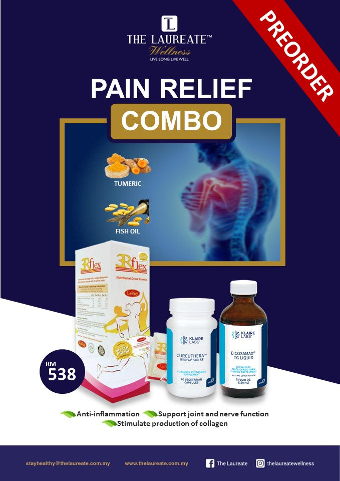 The Laureate Wellness Pain Relief Combo (PRE-ORDER)