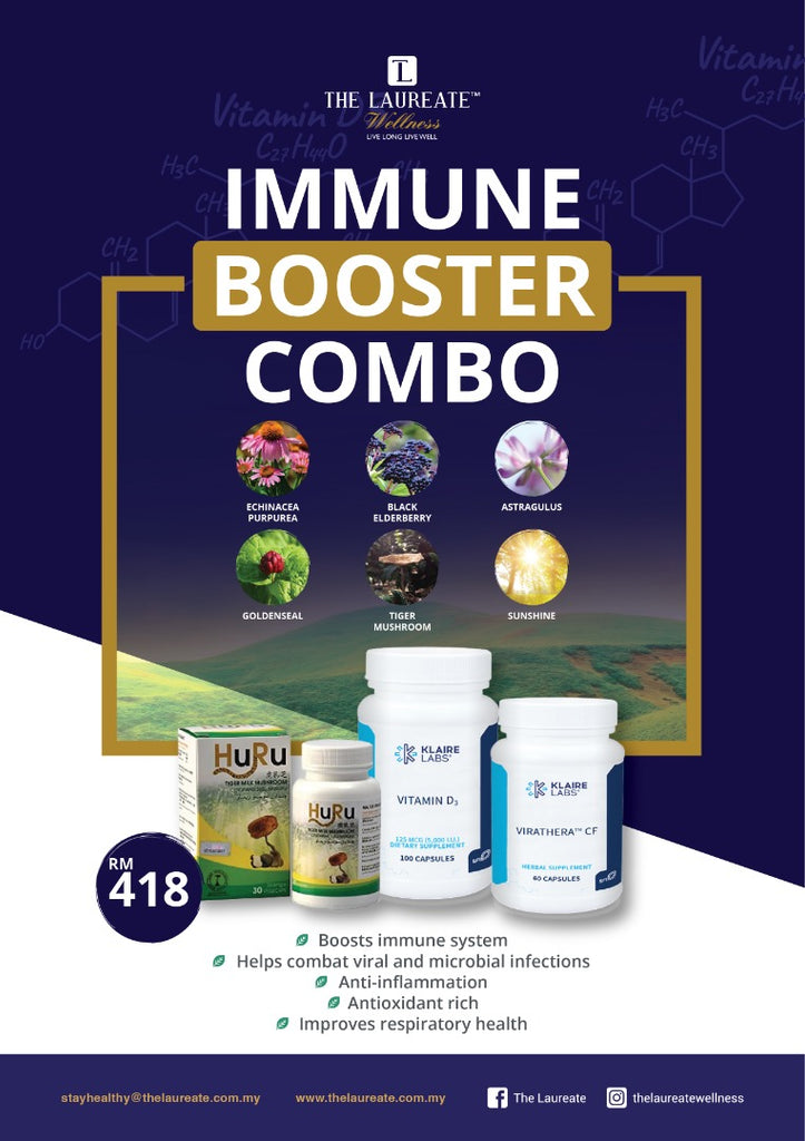 The Laureate Wellness Immune Booster Combo