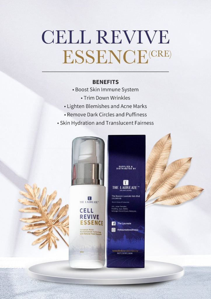 THE LAUREATE CELL REVIVE ESSENCE (Skin Revival and Cells Regeneration)