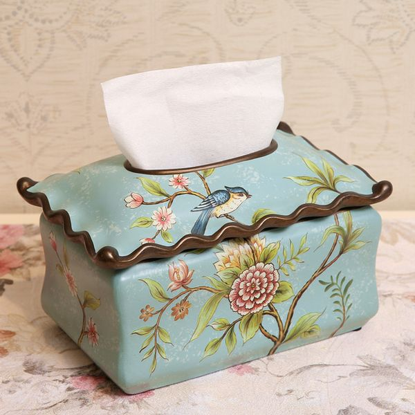 American Country Ceramic Box Decoration - Antique Lovers