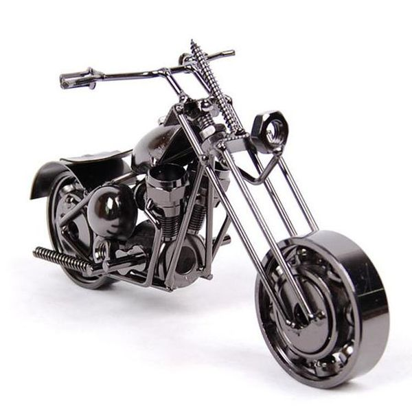 Decorative Iron Motorcycle - Antique Lovers