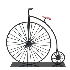 Old Metal Bicycle Model Retro Decoration - Antique Lovers