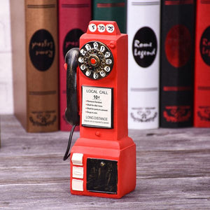 Piggy Bank British Style Phone - Antique Lovers