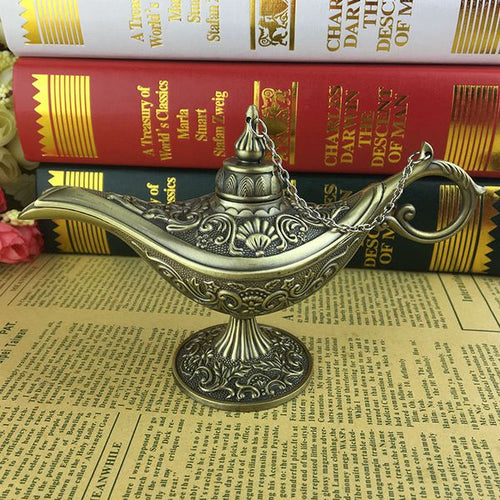 Aladdin Magic Lamps Incense Burners - Antique Lovers