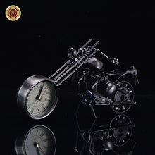 Mini Motorcycle Table Clock - Antique Lovers