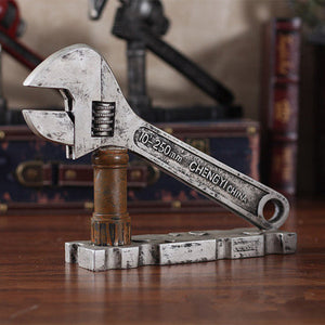 Retro Wrench Pipe Tongs Home Decoration - Antique Lovers