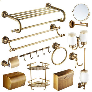 Antique Copper Bathroom Set - Antique Lovers