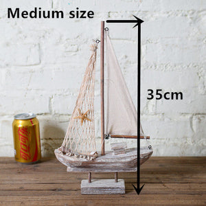 Antique Wooden Sailing Ship - Antique Lovers