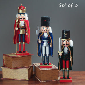 Wooden Nutcrackers Home Decoration - Antique Lovers
