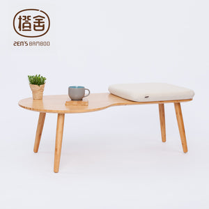 ZEN'S BAMBOO Coffee Table Assembly Tea Table Modern Simple Design Stool Table Living Room Balcony Outdoor Tatami Home Furniture - Antique Lovers