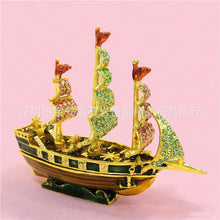 Antique Sailing Ship Boat Home Decoration - Antique Lovers