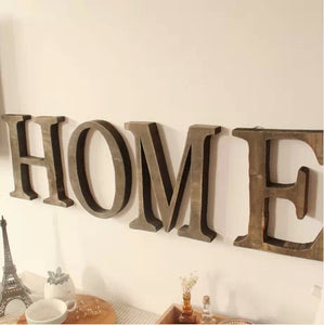 Vintage Wooden Letters (23 cm height) - Antique Lovers