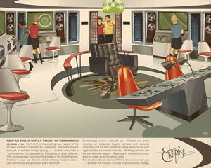 Vintage Sci-Fi Movie  Wall Stickers - Antique Lovers