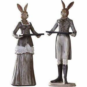 Vintage Rabbit Figurines - Antique Lovers