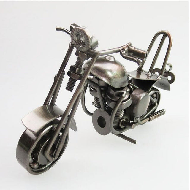 Retro Motorcycle Home Decoration - Antique Lovers