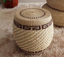 Traditional art Pure natural rattan stool chair,handmade rattan fabric,Small rattan sofa,rattan furniture,living room furniture - Antique Lovers