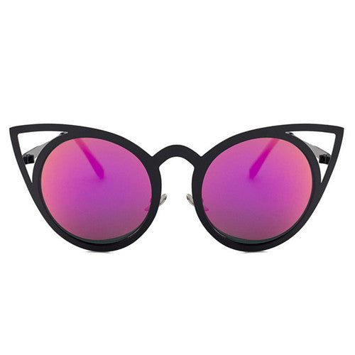 Hot Pink Cat Eyes - Simple Style Guru