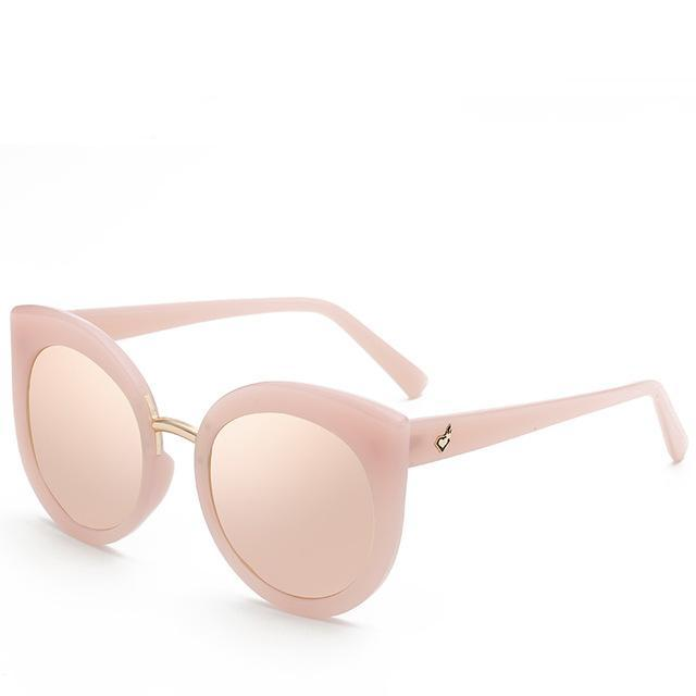Nude Peaky Eyes sunglasses - Simple Style Guru