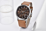 North Luxury Brown watch - Simple Style Guru