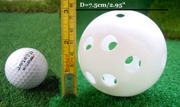 A99 JABF-12 pcs Air Flow white Training Balls Baseball Softball Pickleballs