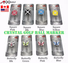 A99 Crystal Golf Ball Marker Magnetic Hat Clip 1