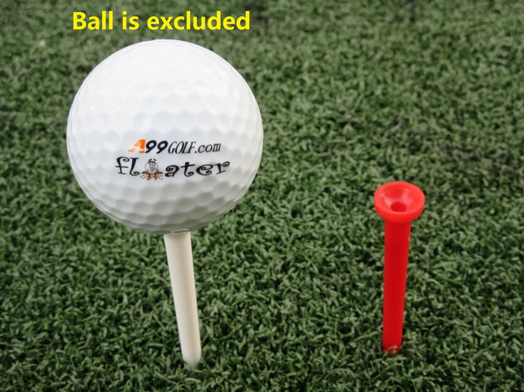 "A99 Golf 3 1/4"" Cup Tip Plastic Tees Mixed Color 30pcs"